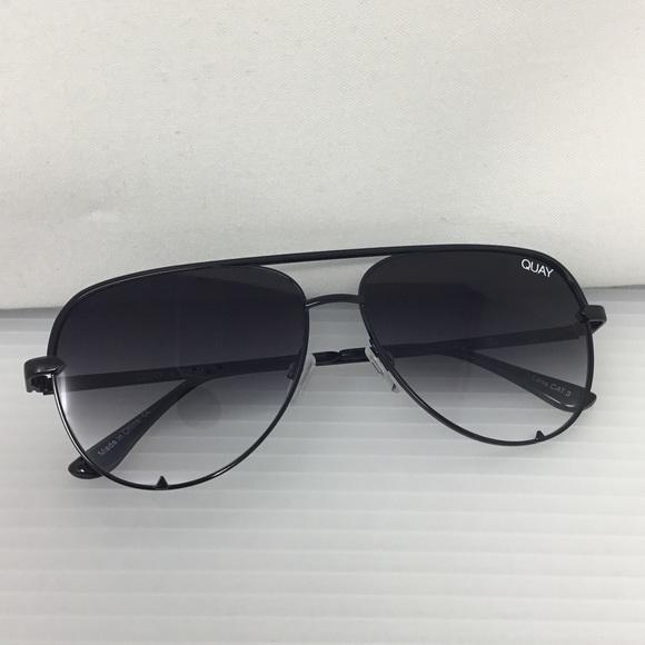 Quay x Desi Perkins High Key Mini 57mm Sunglasses